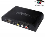 AV Composite and S-Video to HDMI Converter 1080P