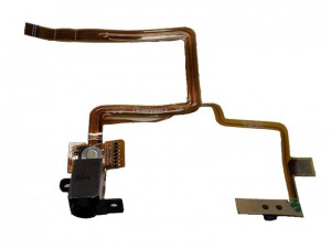 Headphone Jack/Socket & Flex Cable for iPod Video/Classic 5th/6th/7th Generation black