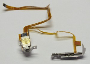 Headphone Jack/Socket & Flex Cable for iPod Video/Classic 5th/6th Generation White