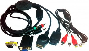 VGA Cable for PS3 and Wii