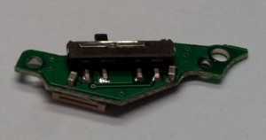 PSP3000 Reset Switch Board