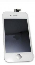 iPhone 4S LCD Display Unit (inc Digitizer Touchpad / Front Glass Cover) in White