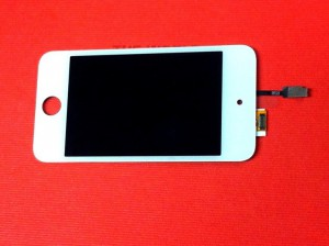 iPod Touch 4G Display unit white (Frontglas, LCD, Touchscreen)