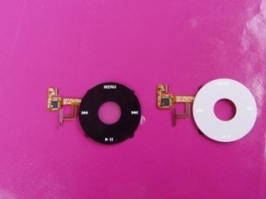 Click Wheel with electronics for iPod Video 5G