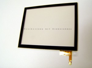 Nintendo DS Lite Touchscreen (with adhesive frame)