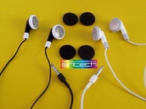 Headphones in white for iPod