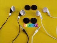 Headphones in black for iPod