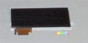 LCD with backlight fits for PSP slim