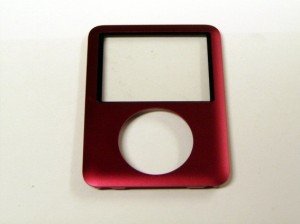 Front Cover Pink/Red for iPod Nano 3G