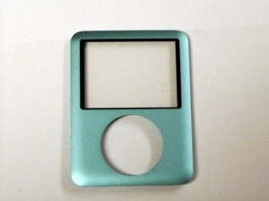 Front Cover turquoise for iPod Nano 3G