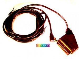 RGB-Scart cable for PSP2000/PSP3000