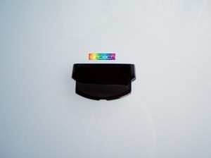 Battery Cover for PSP 3000 in black