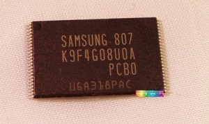 512 MB NAND Memory Samsung IC K9F4G08U0A suitable for Wii