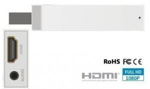 HDMI Converter Stick for Wii 720p 1080p Upscaler