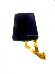 Display-Unit (LCD + Touchscreen) for HTC Desire S - shorter LCD flex