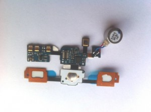Homebutton Flex for Samsung Galaxy S (i9000) with LED, Vibration and microphone