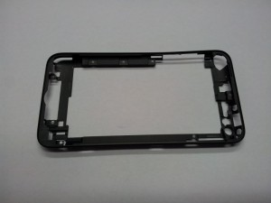 Midde frame in black for iPod Touch 4G