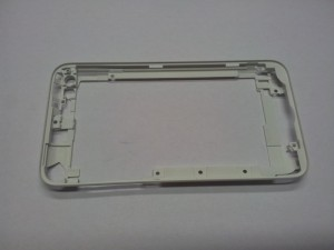 Midde frame in white for iPod Touch 4G