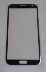 Samsung Galaxy Note 2 N7100 Front Glass titanium grey (LCD Display and Touch Screen not included)