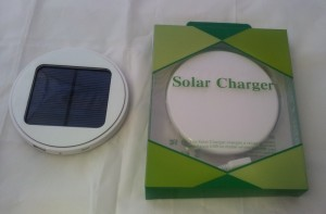 Solar Window Charger  - white
