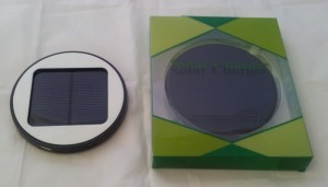 Solar Window Charger  - black