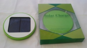 Solar Window Charger  - green