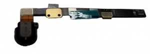 Apple iPad Mini replacement Headphone Jack (black) with Flex Cable