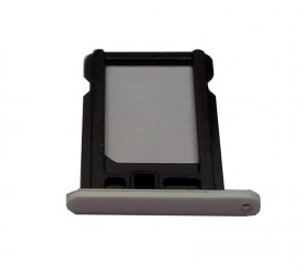 Nano Sim card holder for iPhone 5C white