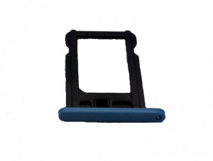 Nano Sim card holder for iPhone 5C blue