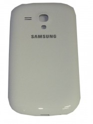 Battery cover pebble white for Samsung Galaxy S4 Mini