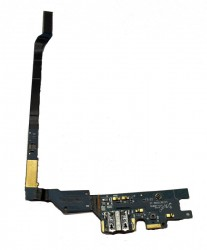 Samsung i9505 Galaxy S4 Replacement Micro USB Port & Microphone Flex-Cable